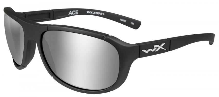 Wileyx Acace06 ACE Sil/blk Polarized