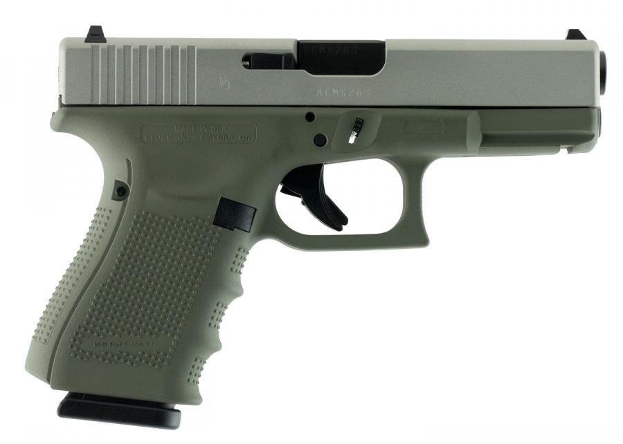 "Glock 19 Gen4 9mm 4.01"" 15+1"