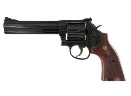 "Smith & Wesson 586-8 6"" Blue"