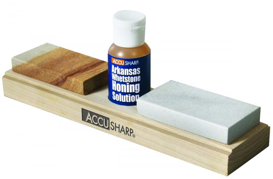 Accusharp Combo Stone Kit With Horning