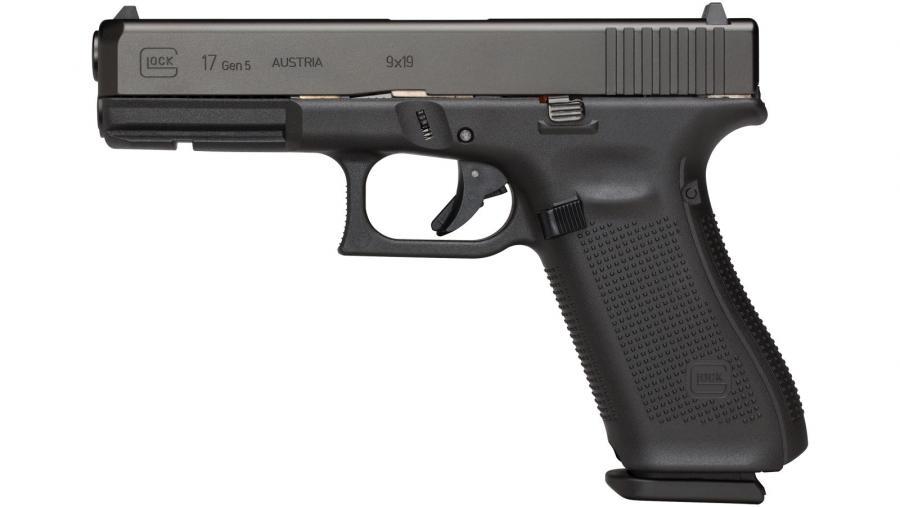 """Glock 17 Gen5 9mm 4.5"""" 17rd"""