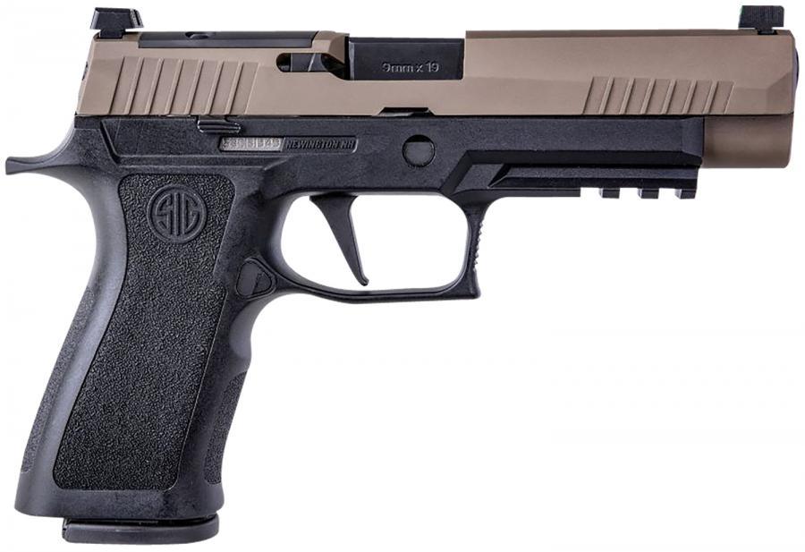 """Sig P320 X-vtac 9mm 4.7"""" Vtac"""