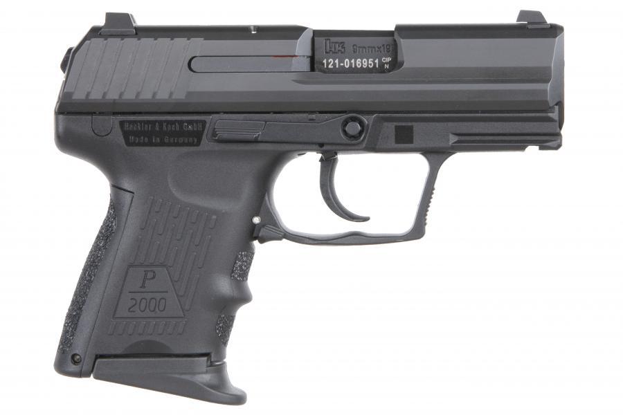 HK P2000sk LEM 9mm DAO 10rd