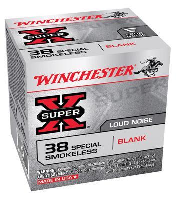 Winchester Ammo Super X Blank 38