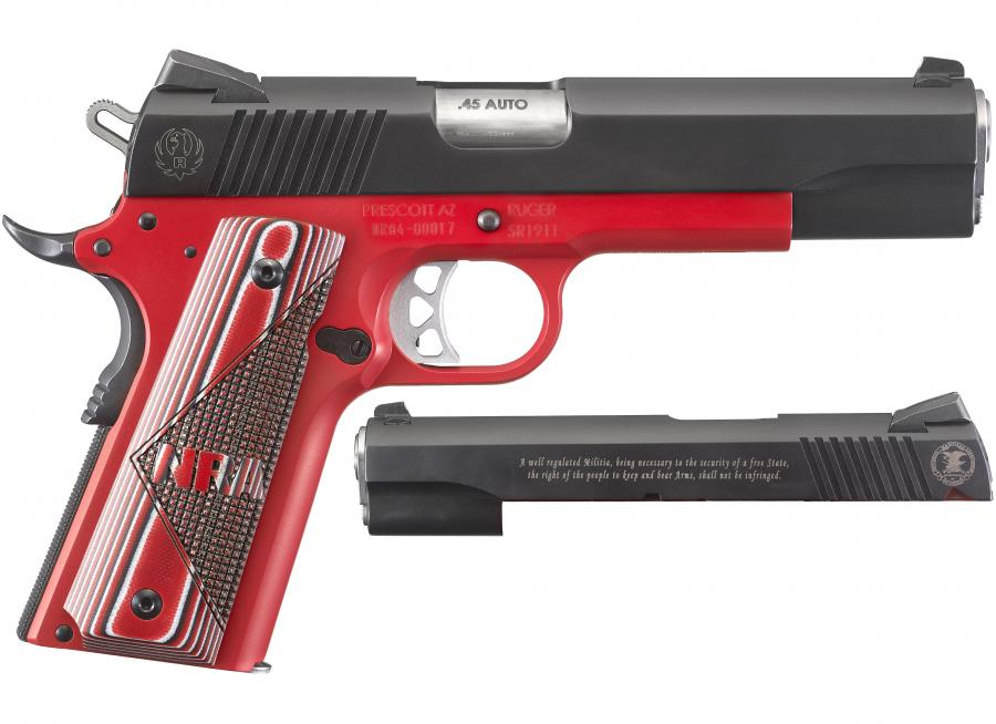 "Ruger Sr1911 NRA 45acp 5"" 8rd"