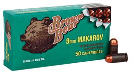 Brown Bear 9x18mm Makarov