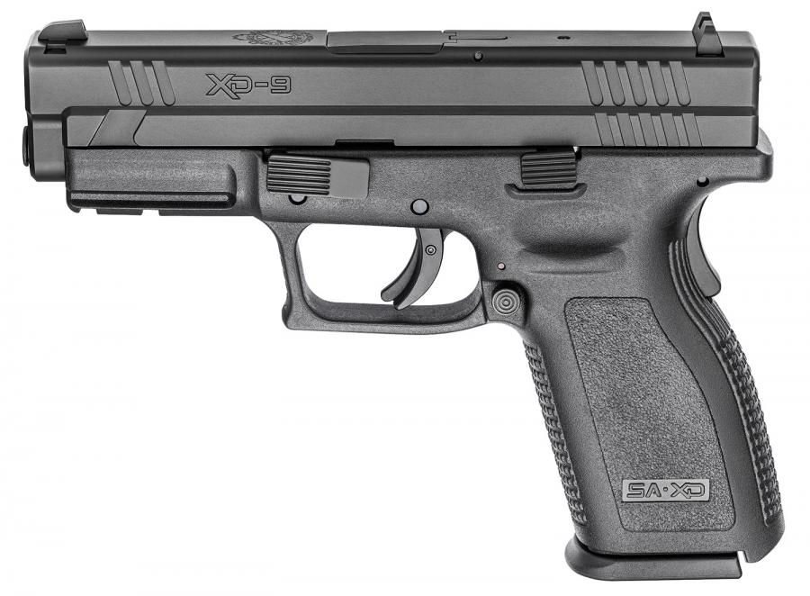 "Sprgfld XD9 Def 9mm 4"" Blk"