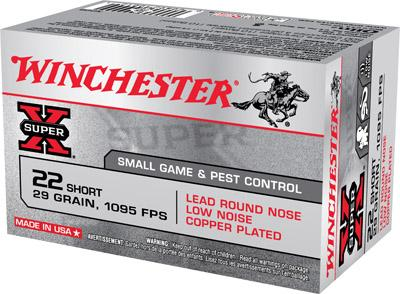 Winchester Ammo Super X 22 Short
