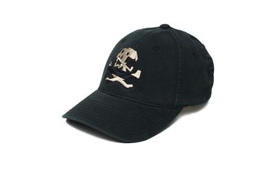 Phu Skull Flag Flex Hat Blk