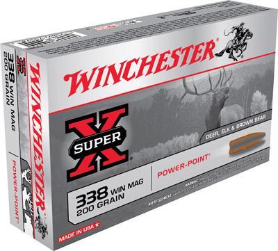 Win Ammo Super X 338 Win