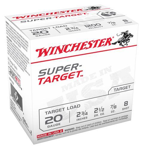 Win Ammo Super Target 20ga.