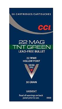CCI Varmint 22 Magnum Jacketed Hollow