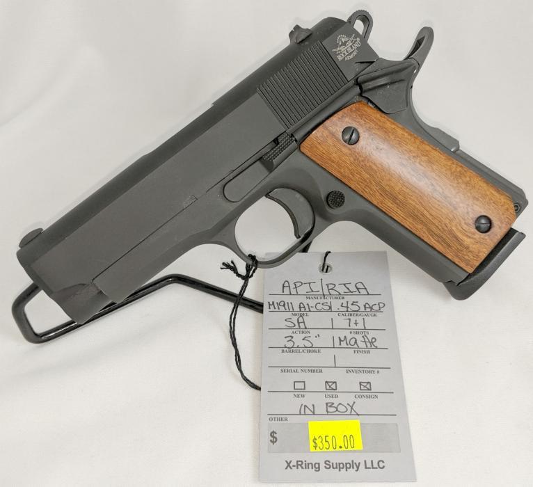 API Intl/ RIA M1911 A1-cs (a-4880)