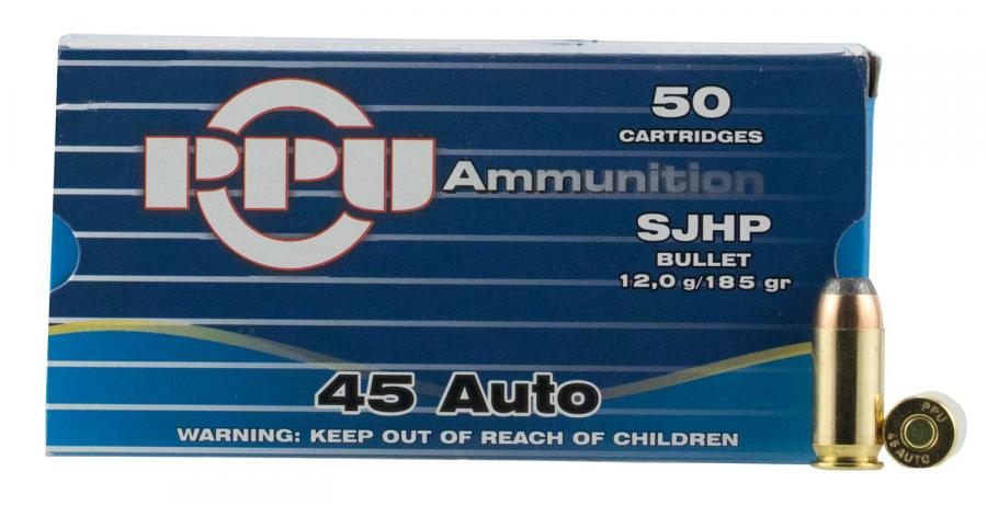PPU Ppr4.31 Handgun 45 Automatic Colt