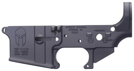 Spikes Stls021 Stripped Lower Spartan Ar-15