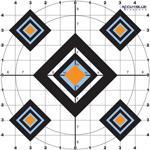 Do-all Paper Target Accu Blue