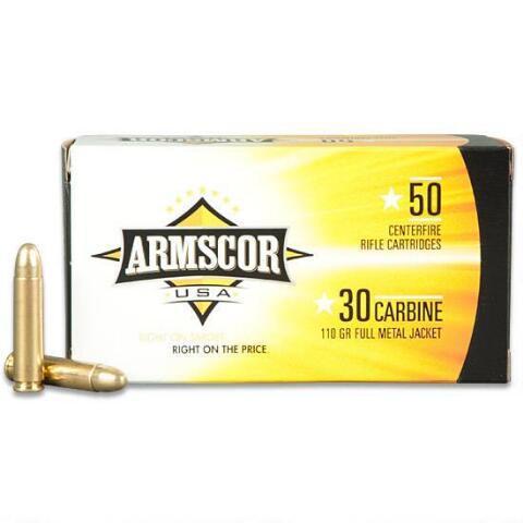 Armscor Ammo .30 Carbine 110gr