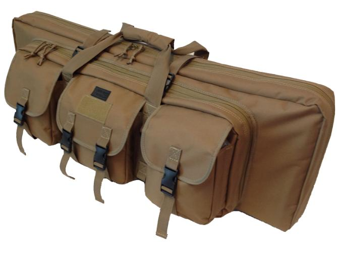 "36"" Double Rifle Case - Coyote"
