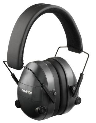 Champion Targets Electronic Earmuff Black