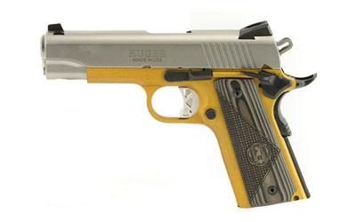 "Ruger Sr1911 45acp 4.25"" Sts/gold 7r"
