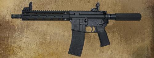 """M4-22 Elite Pistol - 9"""" Aluminum"""
