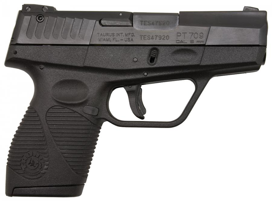 Taurus Model 709 Slim 9mm 2.84""