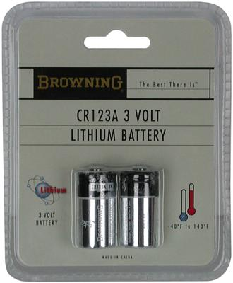 Bg Batteries Cr123a 2-pack