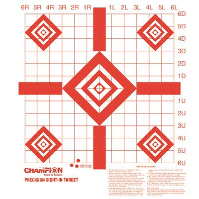 Champion Targets Sight In Targets 10