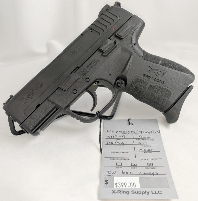 Springfield Armory Xde-9