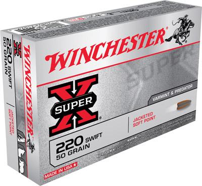 Winchester Ammo Super X 220 Swift
