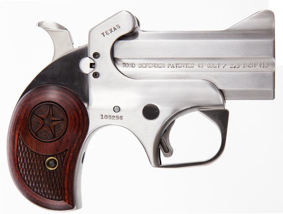 "Bond Arms Texas Defender 410/45lc 3"""