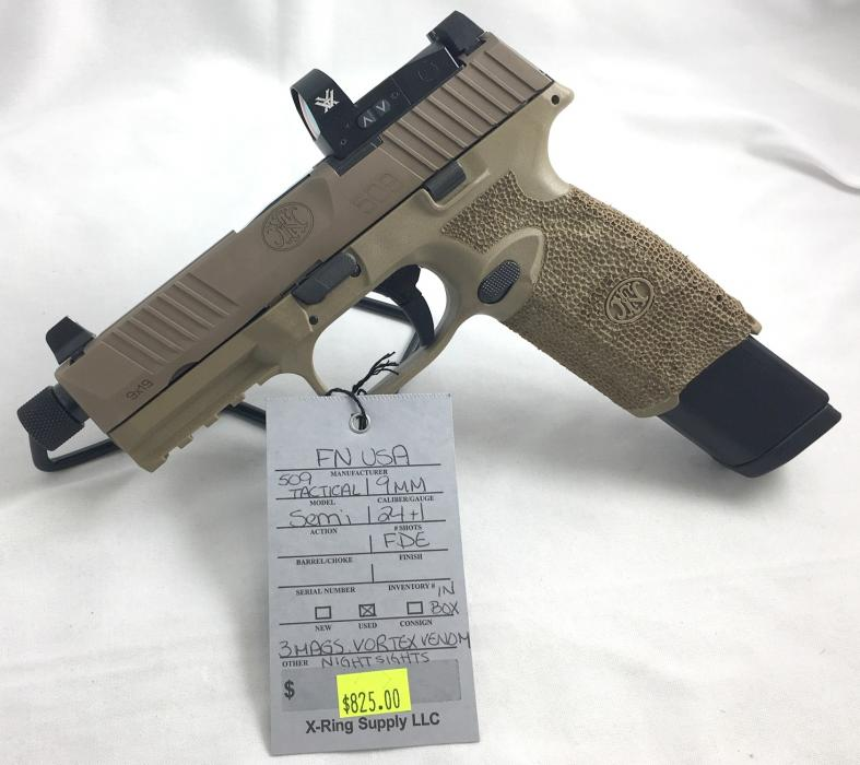 FN USA 509 Tactical 9MM (a-4627)