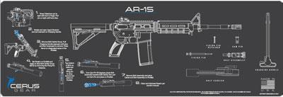 """Cerus Gear 3mm Promats 12""""x36"""""""