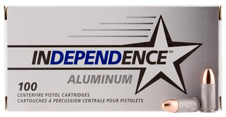Independence 9MM 115gr FMJ 100rd Ial9115100