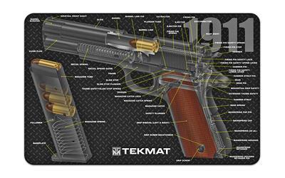 Tekmat Cutaway Pstl Mat 1911 Blk