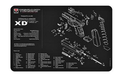 Tekmat Pistol Mat Spgfld Xd Mod