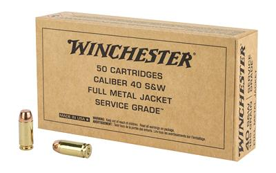 Winchester 40s&w 165gr FMJ