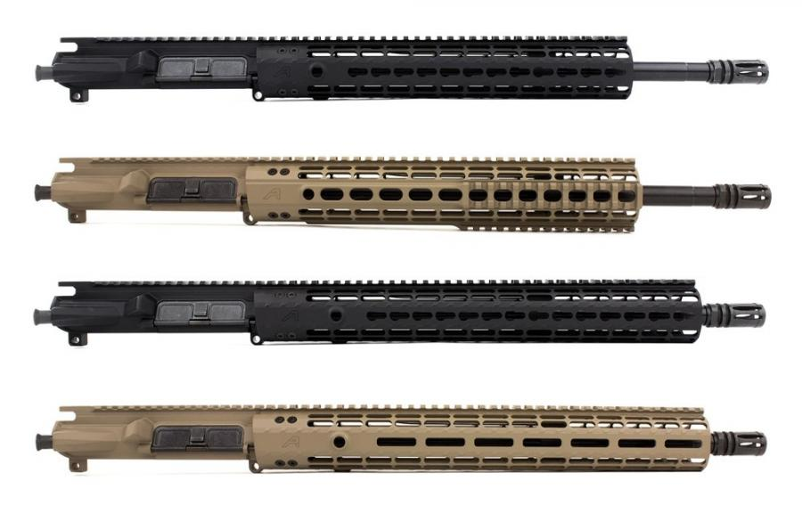 "M4e1-e Complete Upper, 16"" 5.56 Mid-length"