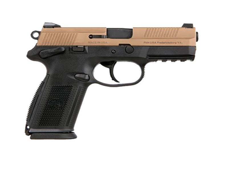 Fnx-9 9mm Fde/blk 17+1 Fs Sfty
