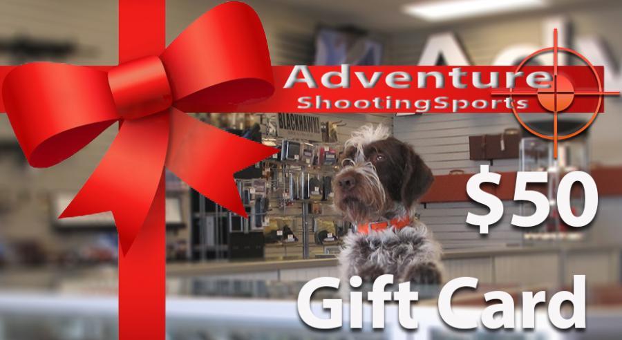 $50 Adventure Outdoor Gift Card
