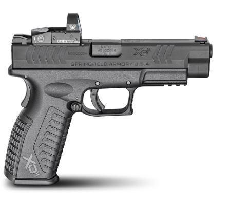 Xdm Osp 9mm Black 4.5 10+1