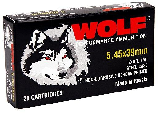 Wolf Performance 5.45mmx39mm Hollow Point 60