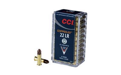 Cci Copper-22 22lr 21gr 50rd