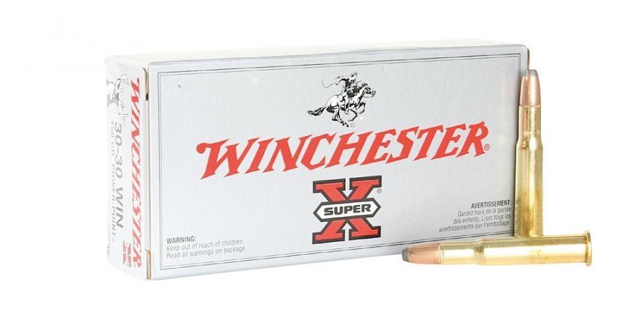 Winchester Ammo Super X 30-30 Winchester