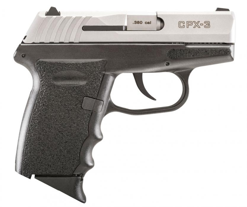"""Sccy Cpx-3 380acp 10rd 3.1"""" Duo-tone"""