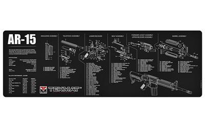 Tekmat Rifle Mat Ar15 Blk