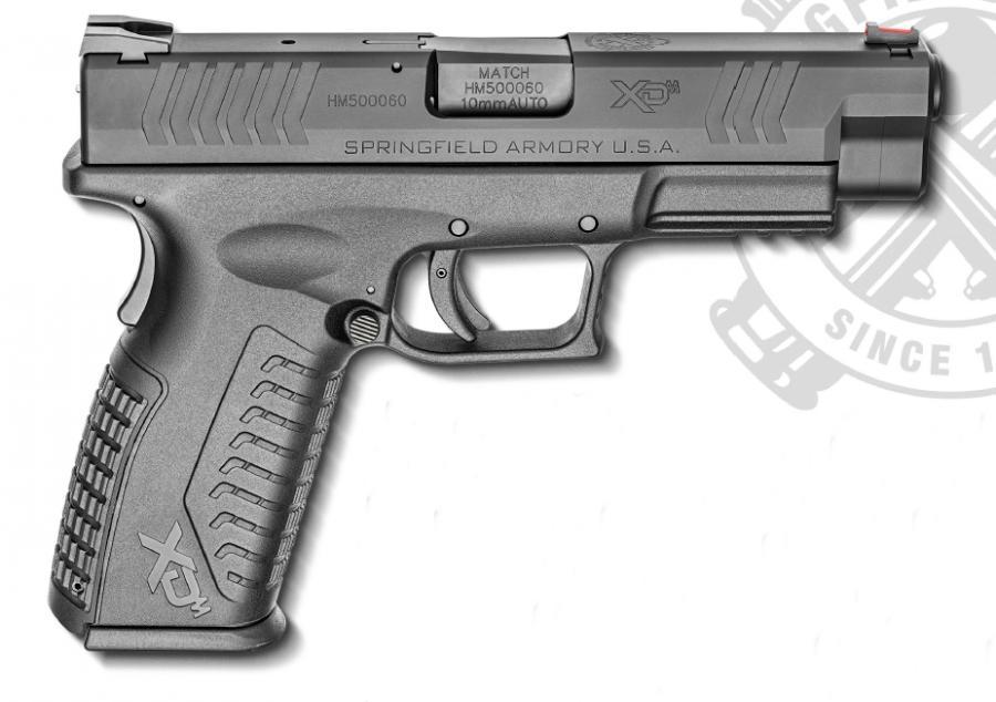 Xdm 10mm Black 4.5 15+1 As