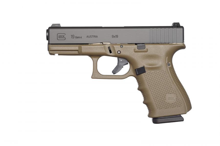 Glock 19 Gen 4 OD Green