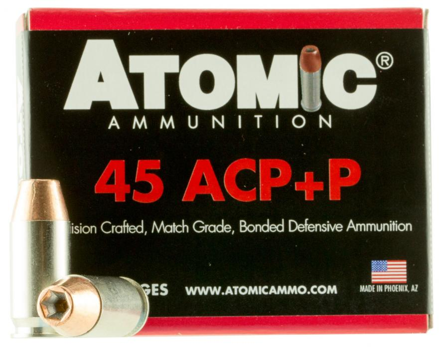 Atomic 00458 45acp+p185 Match HP 20/10