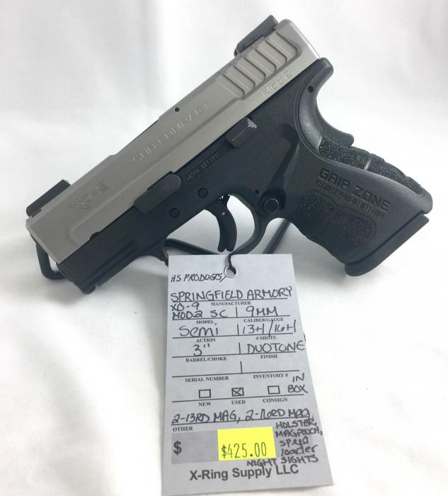 HS Product/ Springfield Armory Xd-9 Mod.2